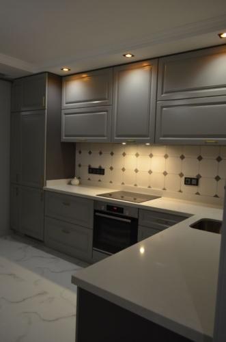 Кухня под заказ МДФ краска сумы