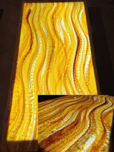 декоративный оникс сумы, стеновые панно из оникса сумы, искусственный оникс в интерьере, столешница из искусственного оникса с подсветкой